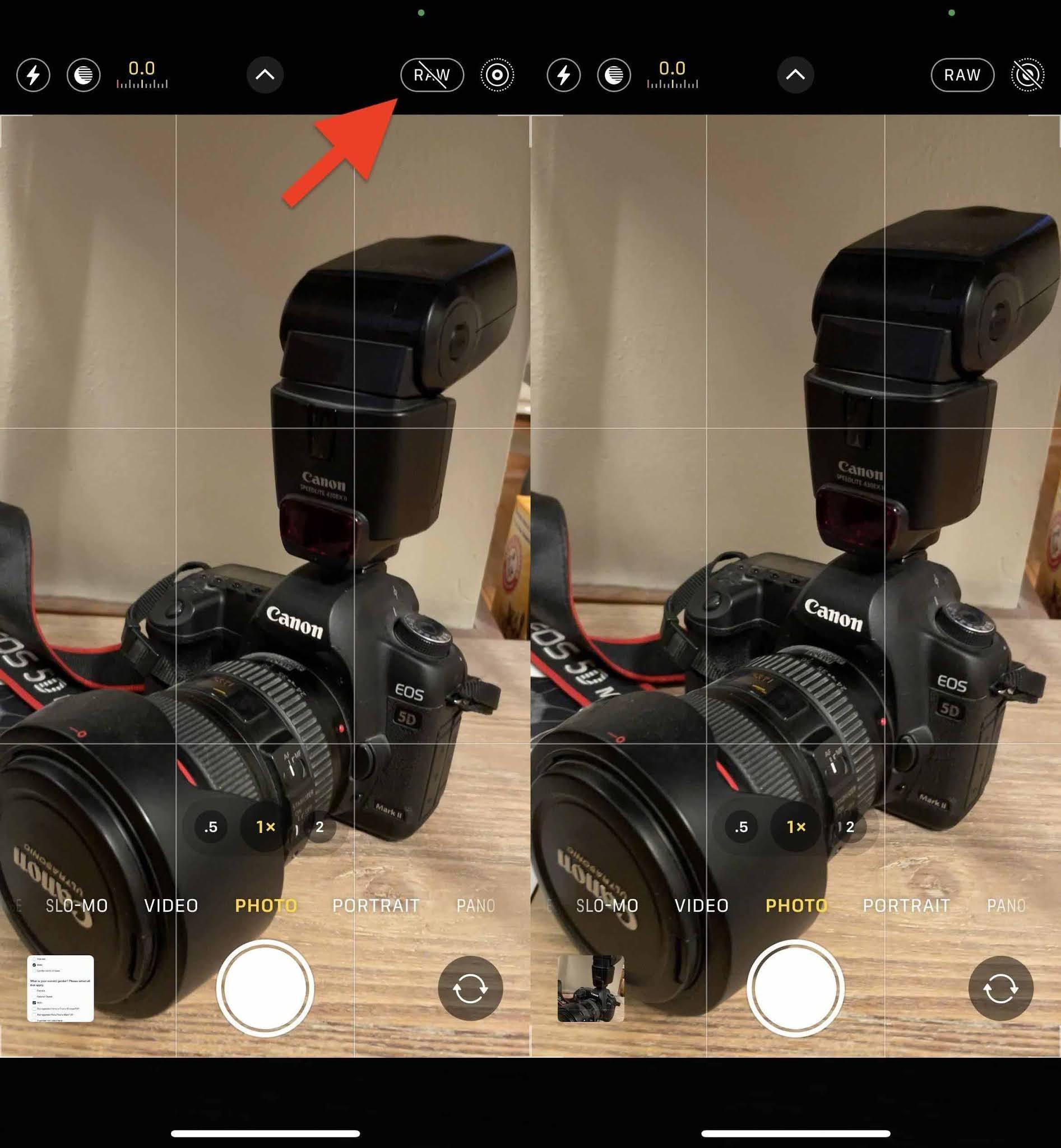 Cách chụp file ProRaw trên điện thoại iphone 12 Pro hoặc iphone 12 Pro Max