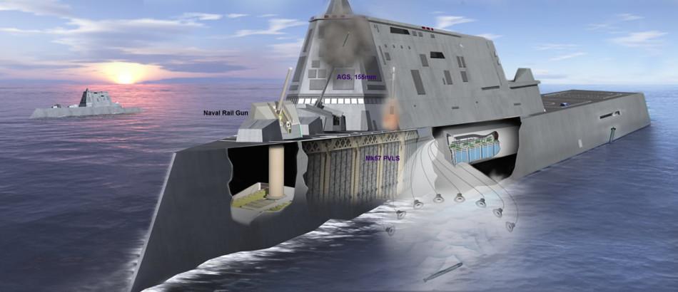 Us Navy S Ddg 1000 Uss Zumwalt Class Next Generation