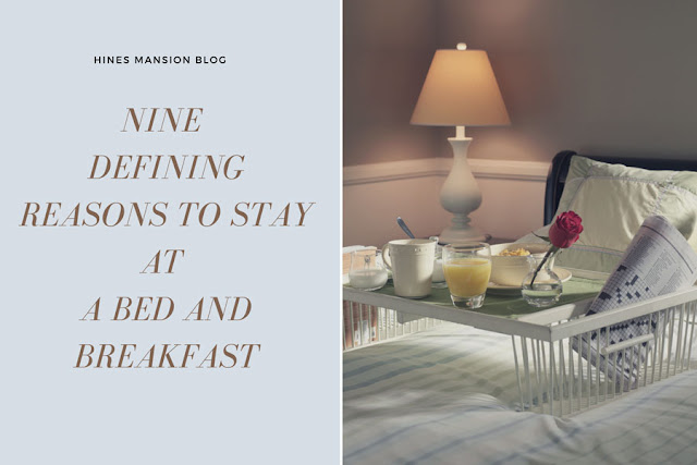 nine defining reasons to stay at a b&b blog cover image