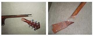 ремонт грифа гитары