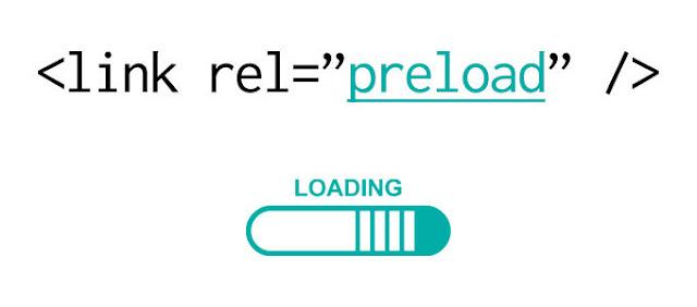 تمكين وظيفة التحميل المسبق على مدونات بلوجر rel='preload'