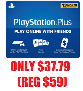 1 Year PlayStation Plus Membership Only $37 79 (Reg $59 99