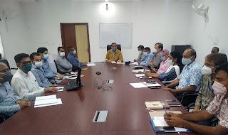 उदयपुर जिला कलेक्टर चेतन देवड़ा ने ली विशेष बैठक