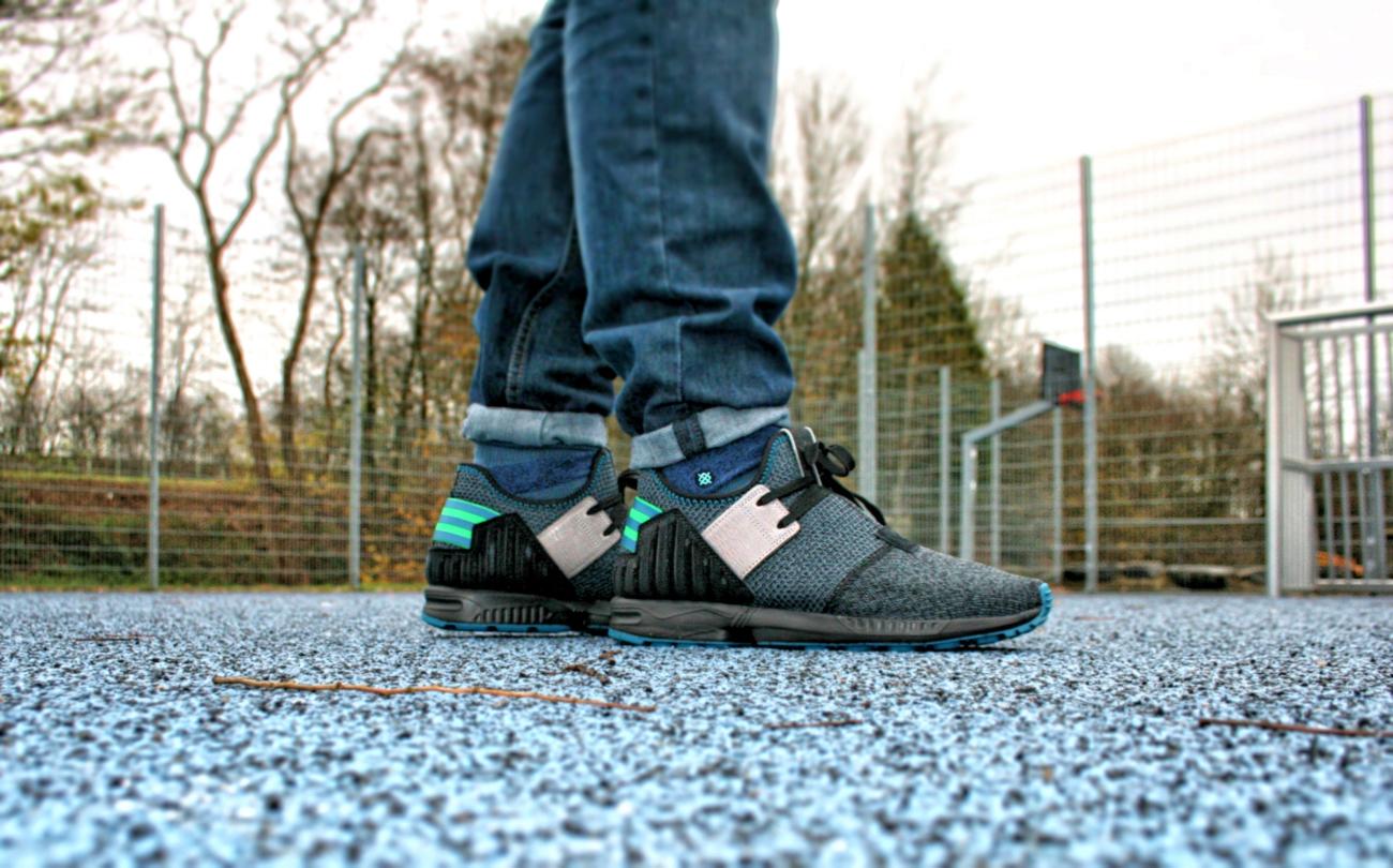 e92a9a09ca4f0 Adidas Zx Flux Plus On Feet cardiffontheweb.co.uk