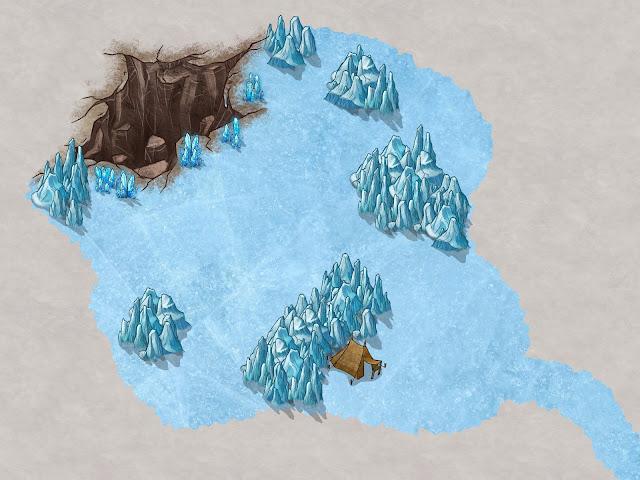 Aventura de Navidad para Dungeons & Dragons - La Frontera del Invierno (4ª Parte) - Los enanos perdidos