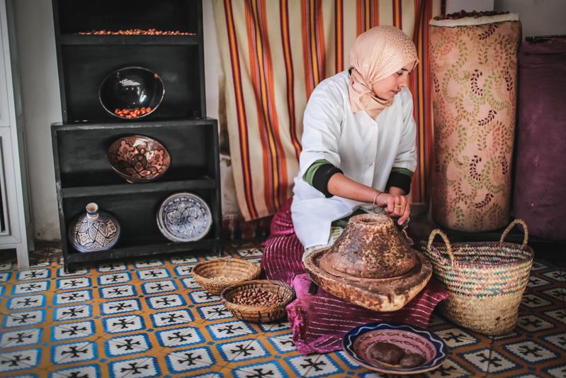 Visita a los zocos de Marrakech (Marruecos)