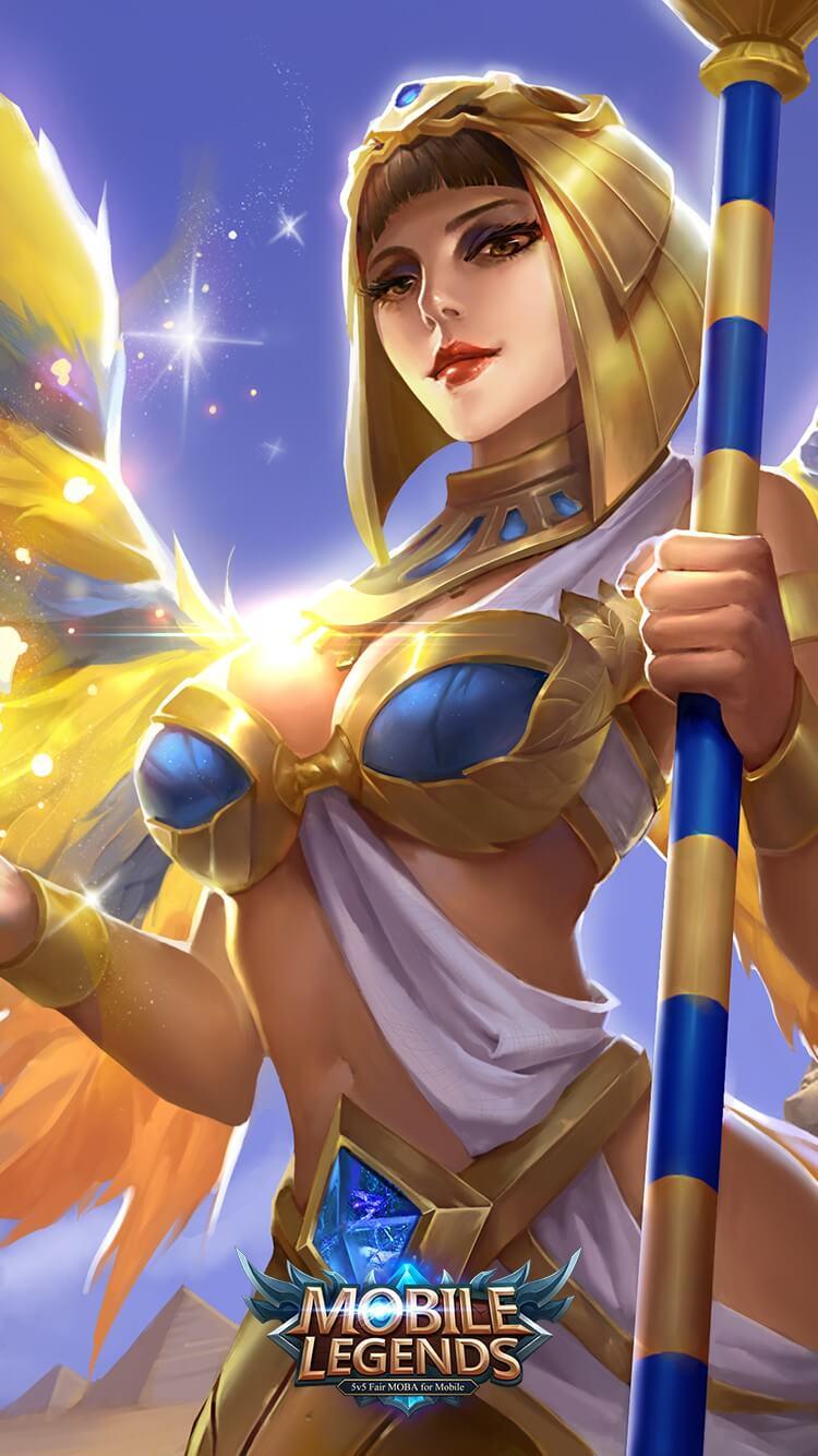 Wallpaper Rafaela Fertility Goddess Skin Mobile Legeneds HD for Mobile