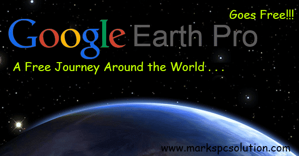 Google Earth Pro License is now free!