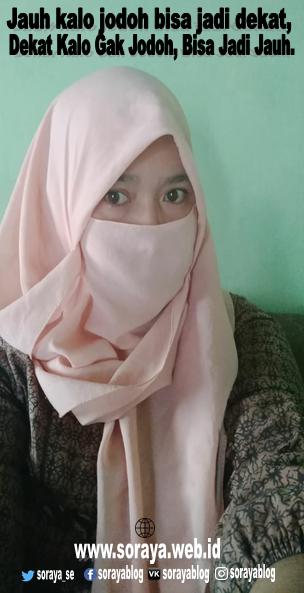 Photo Meme Soraya Wanita Hijaber Cari Jodoh Jauh Dekat