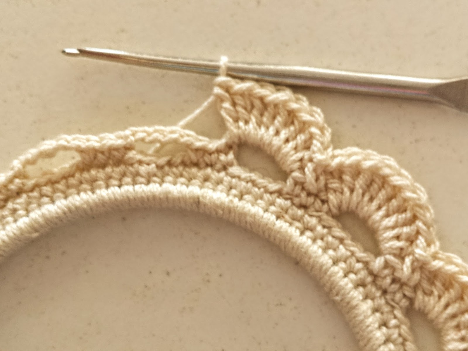 Upcycle A Pair Of Old Hoop Earrings Into Beautiful Crochet Earrings