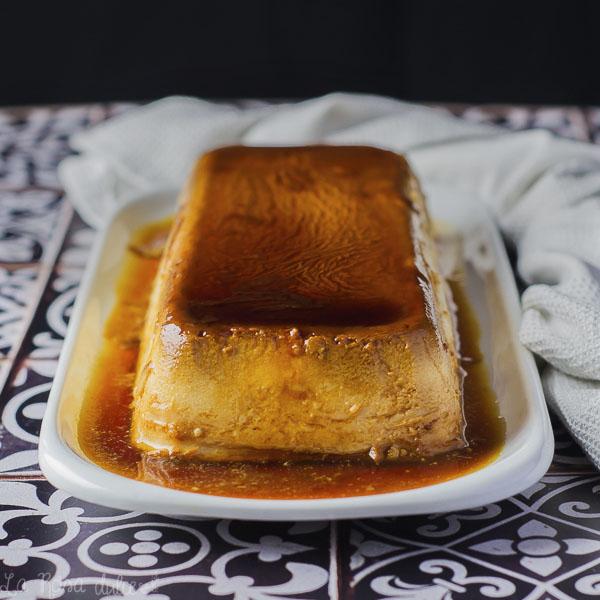 Flan de queso #sinlactosa #singluten