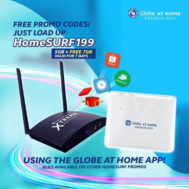 Get Cool Freebies with Globe At Home App