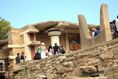 Minoan Palace of Knossos in Crete