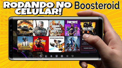 Boosteroid Gameplay Android