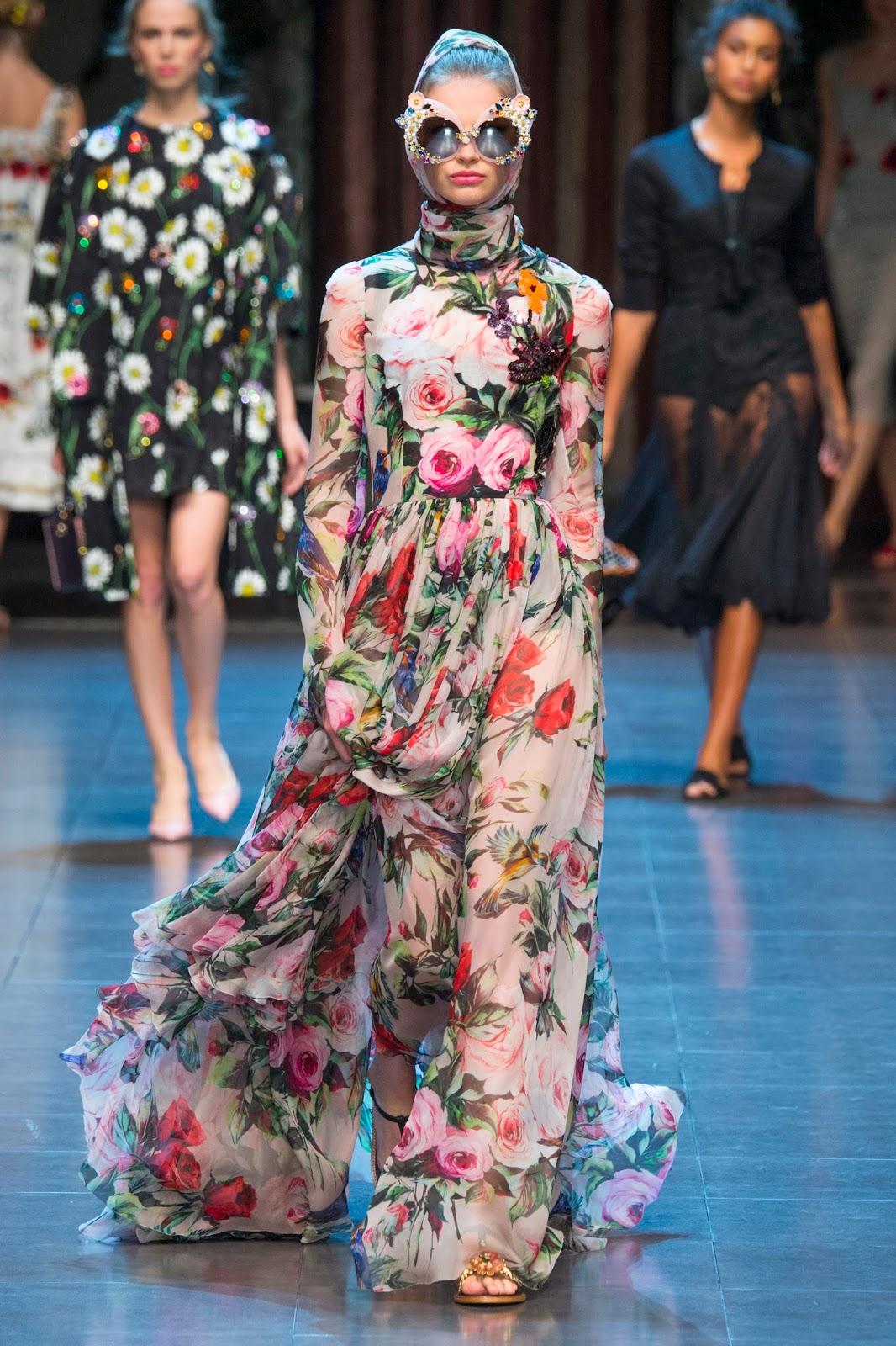 Fashion Runway Dolce Amp Gabbana Spring 2016 Ready To Wear