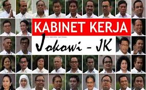 daftar kementrian indonesia