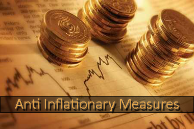Anti inflationary measures