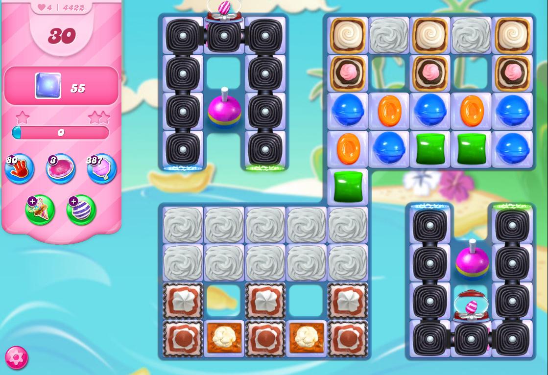 Candy Crush Saga level 4422