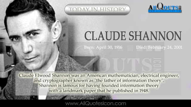Claude Shannon  -Telugu-QUotes-Images-Wallpapers-Pictures-Photos