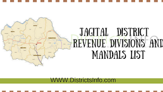 jagital  District New Revenue Divisions and Mandals List