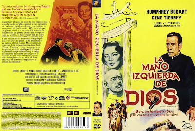 Carátula dvd: La mano izquierda de Dios (1955)