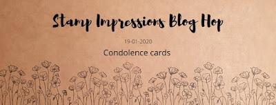 Stamp Impressions Blog Hop: Trauerkarten mit Gänseblümchenglück, Crackle Paint und Gut gesagt