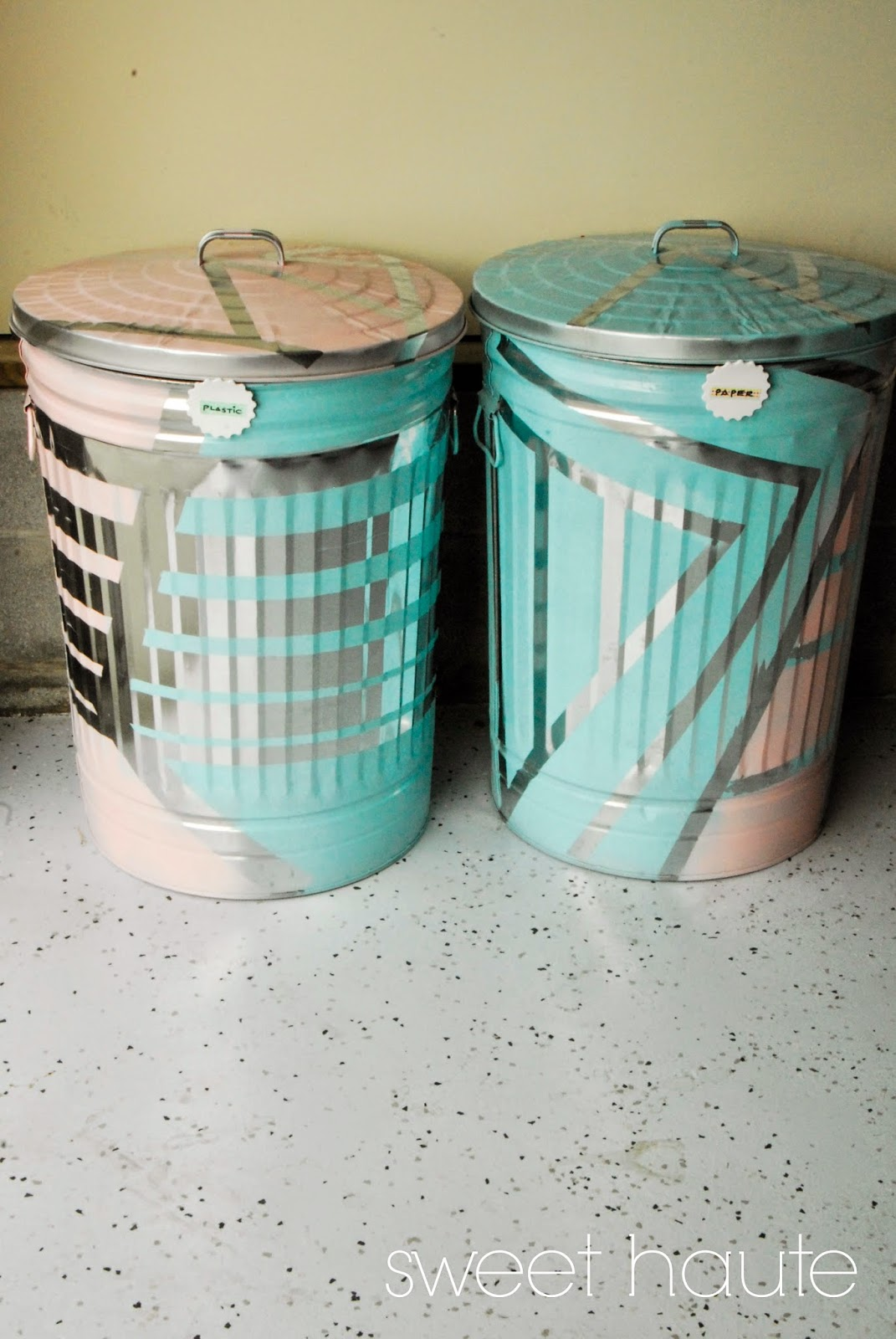 Sweethaute Diy Outdoor Organization Recycle Bins