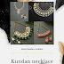 Kundan necklace designs (bridal)!!