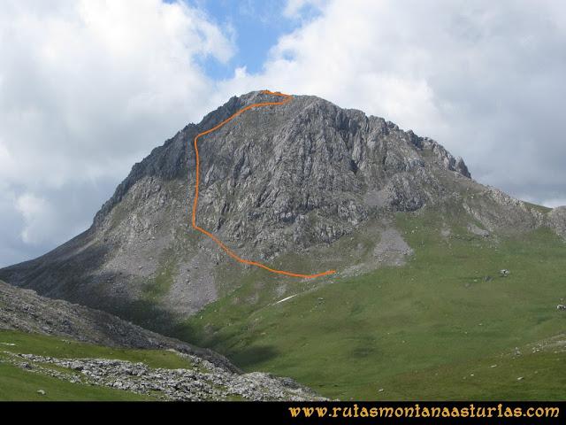 Ruta Peña Cerreos y Ubiña Pequeña: Subida a Peña Ubiña Pequeña