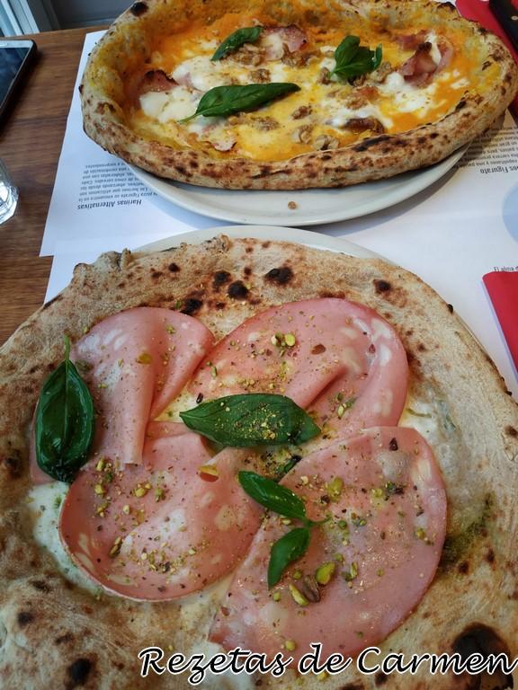 Fratelli figurato, pizza italiana en Madrid