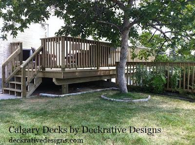 deck design calgary