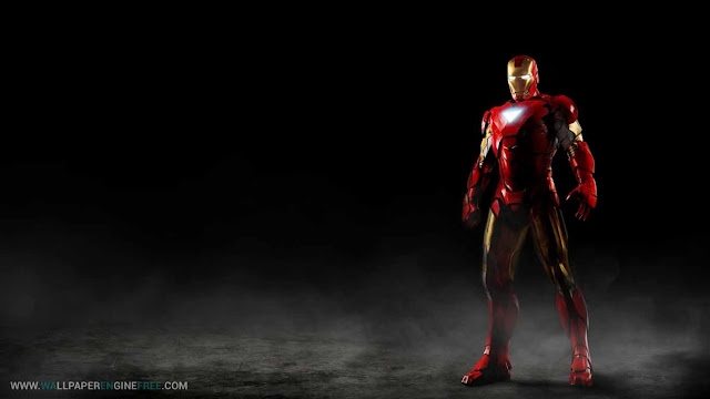 Iron Man Wallpaper Engine