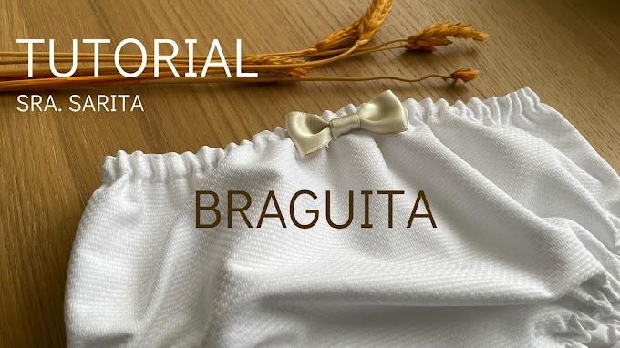 TUTORIAL: Braguita-Cubrepañal