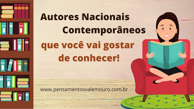 Autores Nacionais Contemporâneos que você vai gostar de conhecer!