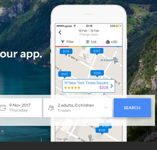 Agoda 8% 獨家優惠碼下載(手機 app)
