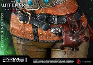 """Abierto pre-order de Ciri del """"The Witcher 3"""" - Prime 1 Studio"""