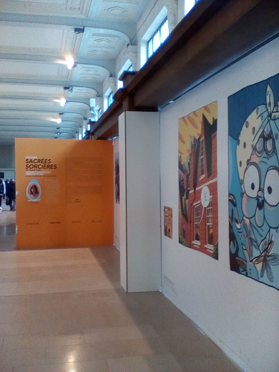 Comics in gare de Lyon