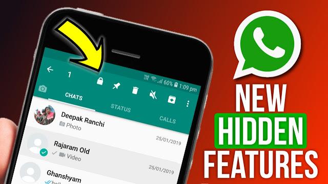 Fitur baru whatsapp bisa buka sandi dengan sidik jari