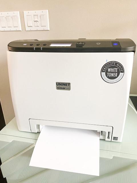 white toner printer, uninet icolor 569, 8-in-1 heat press, mug press, uninet icolor