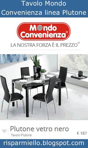Risparmiello tavoli in vetro mondo convenienza for Tavolo allungabile mondo convenienza
