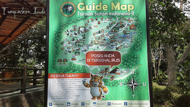 Maps taman safari indonesia ii