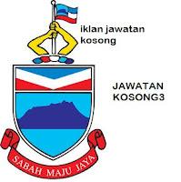 Iklan Jawatan Kosong Kerajaan negeri Sabah
