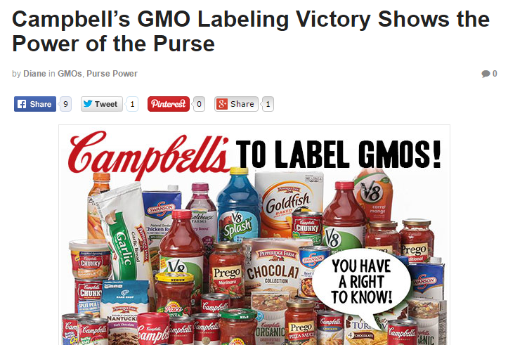 Campbell S Label Brilliant Strategy