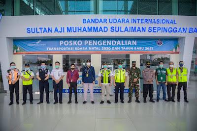 Berikan Kenyamanan Saat Libur Nataru, PT Angkasa Pura I Dirikan Posko Terpadu di Bandara SAMS Sepinggan