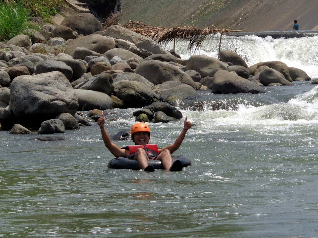 whitewater rafting in Laguna