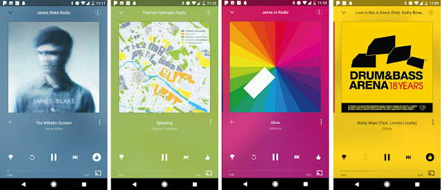 pandora radio new ui music app for android