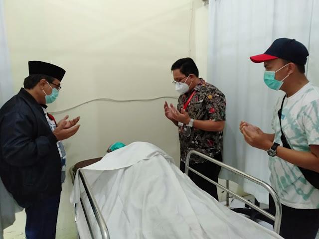Asisten Dua Pemprov Sulut Praseno Hadi Akan Dampingi Almarhum KH. Rizali M Noor ke Keluarganya di Kalimantan