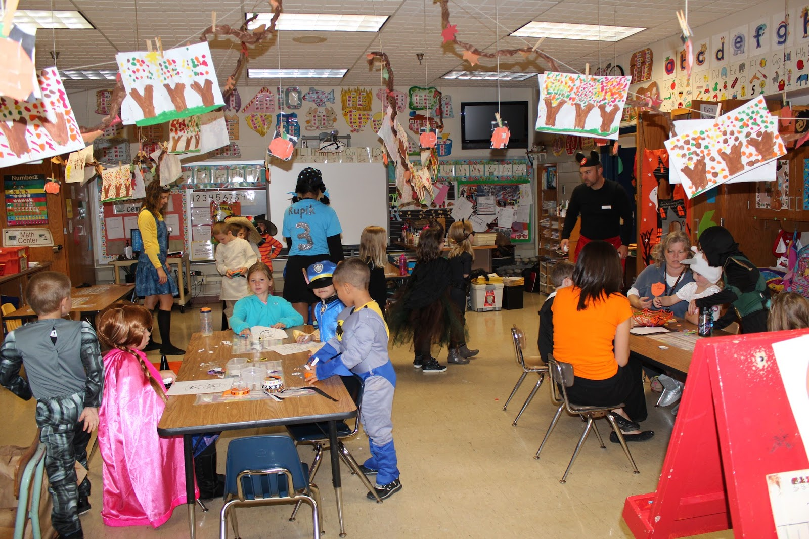 The Shinskys Awesome School Halloween Parties
