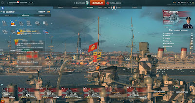 banderas y camuflajes world of warships