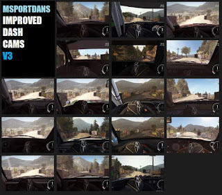 Dirt Rally Download Mods IMPROVED DASH CAMS V3 Cams